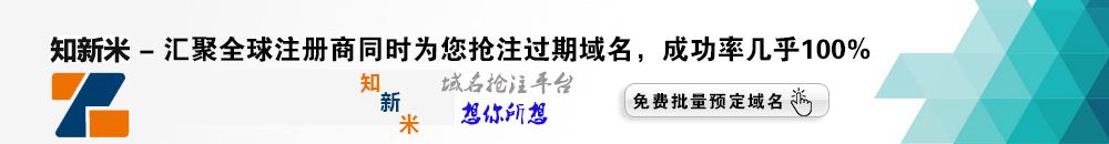 知新米-域名抢注成功率99%
